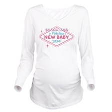 Las Vegas Expecting 2014 Long Sleeve Maternity T-S