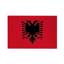 Albanian Flag Rectangle Magnet (100 pack)
