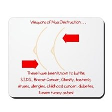 Weapons of Mass Destruction Mousepad