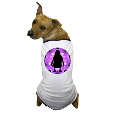 Kaleidoscope Penguin Dog T-Shirt