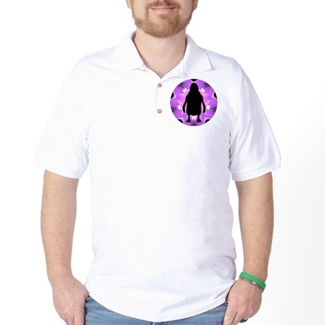 Kaleidoscope Penguin Golf Shirt