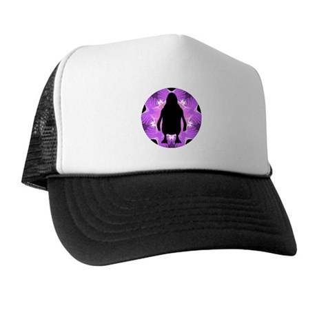 Kaleidoscope Penguin Trucker Hat