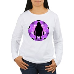 Kaleidoscope Penguin Women's Long Sleeve T-Shirt