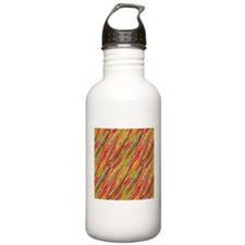 Colorful Scribbles Water Bottle