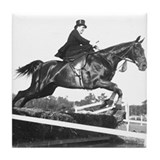 Saturne Jumping Sidesaddle Tile Coaster