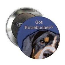 "Got Entlebucher? Woof Cloud 2.25"" Button"