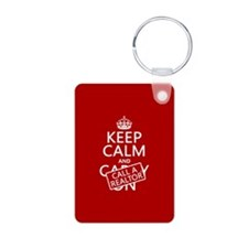Keep Calm and Call A Realtor Keychains