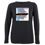 Interlocking Colors Long Sleeve Dark T-Shirt