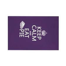 Keep Calm and Eat Pie Rectangle Magnet
