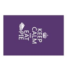 Keep Calm and Eat Pie Postcards (Package of 8)