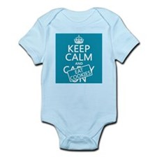 Keep Calm and Eat Cookies Infant Bodysuit