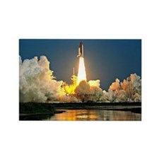 Cape Canaveral Launch Pad Rectangle Magnet