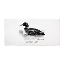 Common Loon Beach Towel