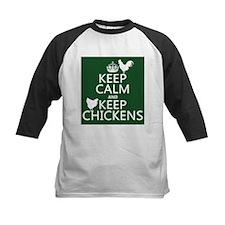 Keep Calm and Keep Chickens Tee