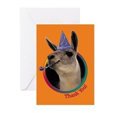Llama Thank You Cards (6)