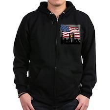 Never Forget 9-11 Zip Hoodie