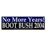 No More Years (bumper sticker)