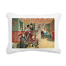 Carl Larsson artwork: A  Rectangular Canvas Pillow