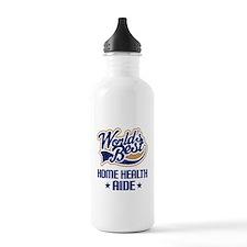 Home Health AIDE (Worlds Best) Water Bottle