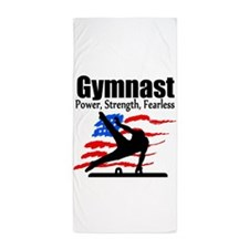 ALL AROUND GYMNAST Beach Towel