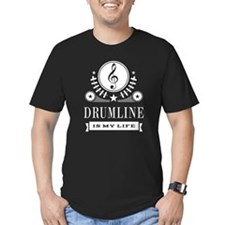 Drumline Is My Life T-Shirt