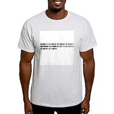 Geek Power Ash Grey T-Shirt