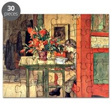 Carl Larsson painting: Lisbeth Reading (190 Puzzle