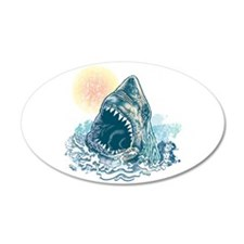 Sharks Happen Wall Decal