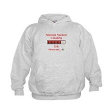 Palestine freedom is loading Hoodie