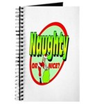 Naughty Or Nice Journal
