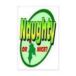 Naughty Or Nice Mini Poster Print