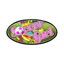 Soccer Girl Patches