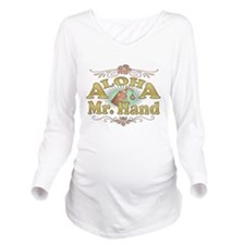 2-aloha-white-distressed.png Long Sleeve Maternity