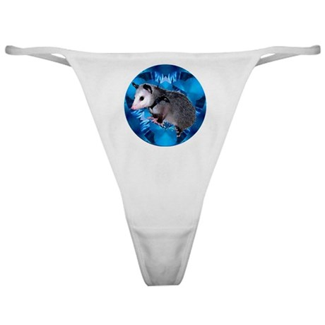 Baby Possum Kaleidoscope Classic Thong
