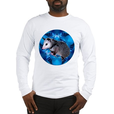 Baby Possum Kaleidoscope Long Sleeve T-Shirt