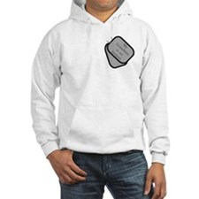 My Grandson is an Airman dog tag Hoodie