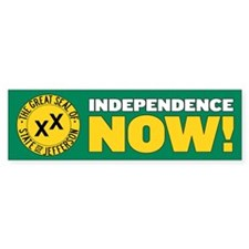 10 Pack of Independence Now Bumper Stickers