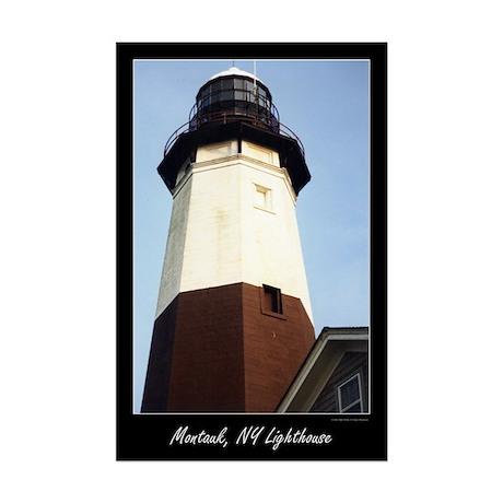 Montauk Lighthouse Mini Poster Print