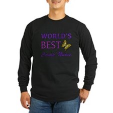 World's Best Camp Nurse (Butterfly) T