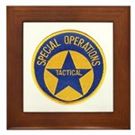 New Orleans PD Tactical Framed Tile