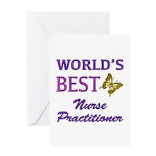 World's Best Nurse Practitioner (Butterfly) Greeti