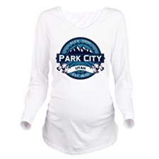 Park City Ice Long Sleeve Maternity T-Shirt