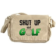 Shut Up and Golf Messenger Bag