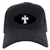 Silver Cross Baseball Hat
