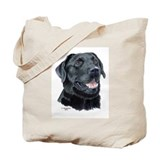 "Black Labrador ""Tejas"" Tote Bag"