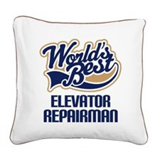 Elevator Repairman (Worlds Best) Square Canvas Pil
