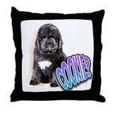 newfy puppy 1 Throw Pillow