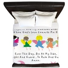 angel of God Twin WHITE King Duvet