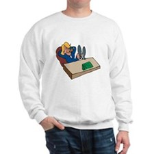 Office Worker Sweatshirt