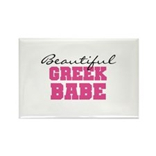 Greek Babe Rectangle Magnet